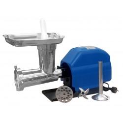 Picadora-embutidora eléctrica Garhe Nº 32 con cabezal  inoxidable GR10 120 RPM 2 HP