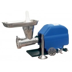Picadora-embutidora eléctrica Garhe Nº22  cabezal inoxidable GR10 120 RPM