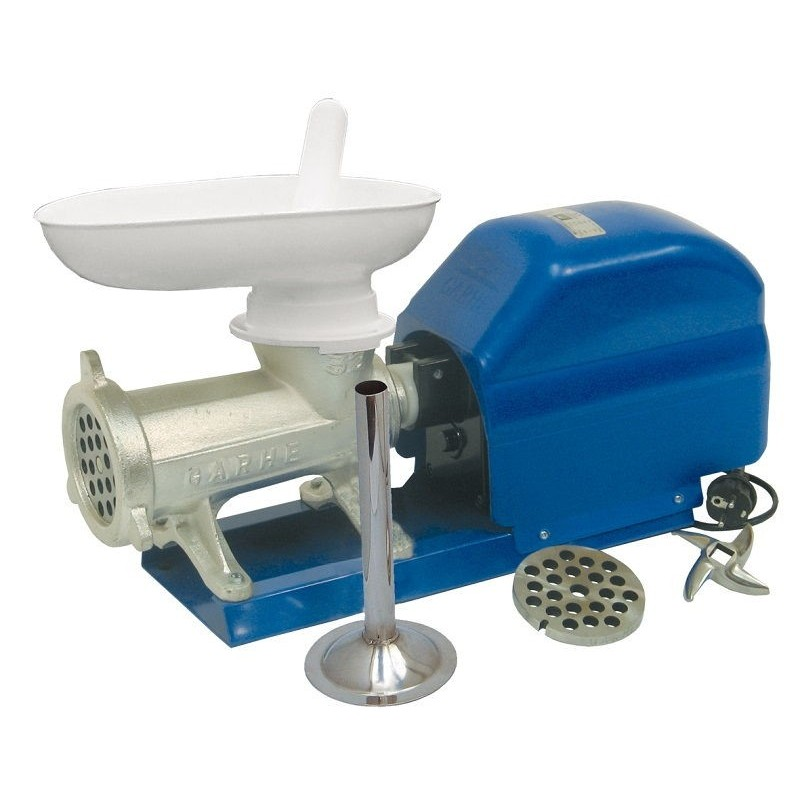 Picadora-embutidora eléctrica Garhe nº 32 Banda Ancha MR10 60 RPM