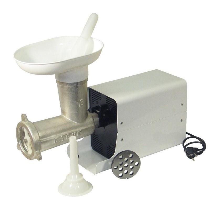 Picadora-embutidora eléctrica con cabezal desmontable 32 Cubierta Metálica Motor MR7