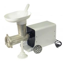 Picadora-embutidora eléctrica con cabezal desmontable 22 Cubierta Metálica Motor MR7