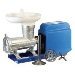 Picadora-embutidora eléctrica nº 32 de boca ancha sobre base metálica MOTOR GR9