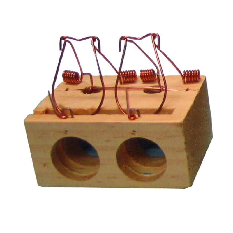 Ratonera de 2 agujeros de Garhe