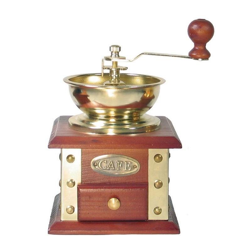 Molinillo de café decorativo color dorado de Garhe