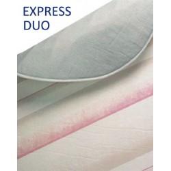 Funda de tabla de planchar Express Duo algodón metal 140x60 cm acolchada de Garhe