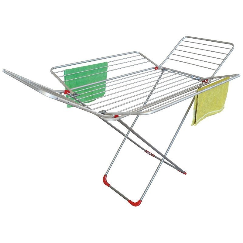 Tendedero con 4 alas de aluminio 'Mariposa' de Garhe
