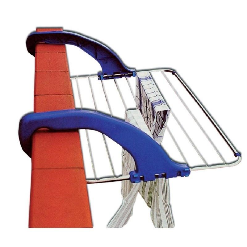 Tendedero de balcón de aluminio 'Delta' de Garhe