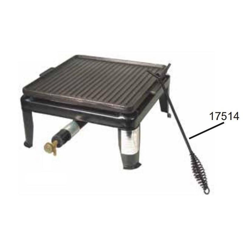 Gancho metálico para asadora reversible de Garhe
