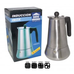 Asa para cafetera de inducción inoxidable Macao 6 tazas de Garhe