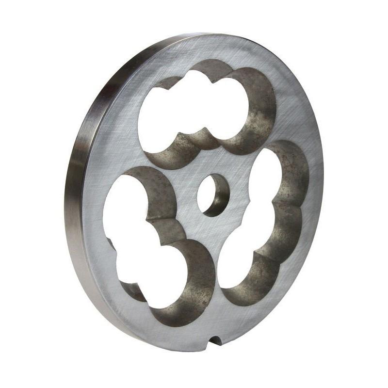 Placa de 12 mm de acero inoxidable para picadora Unger de Garhe