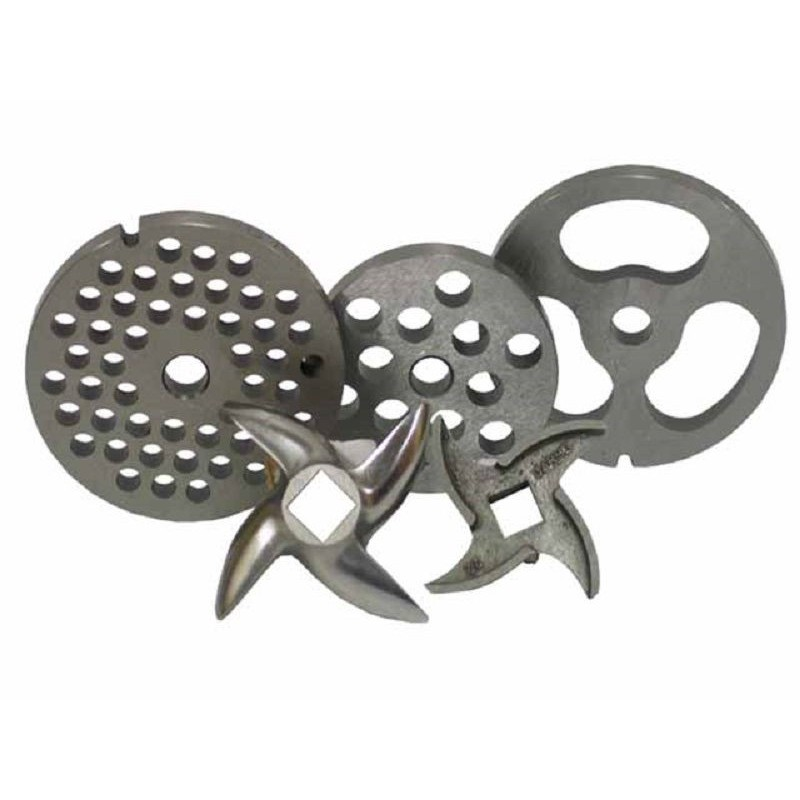 Placa de acero inoxidable 4,5 mm modelo 22 para picadora Garhe
