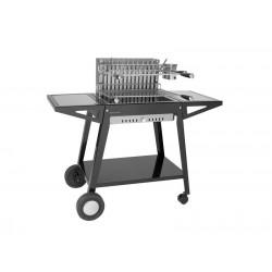 Carro para grill de acero integrado 56 de Forge Adour