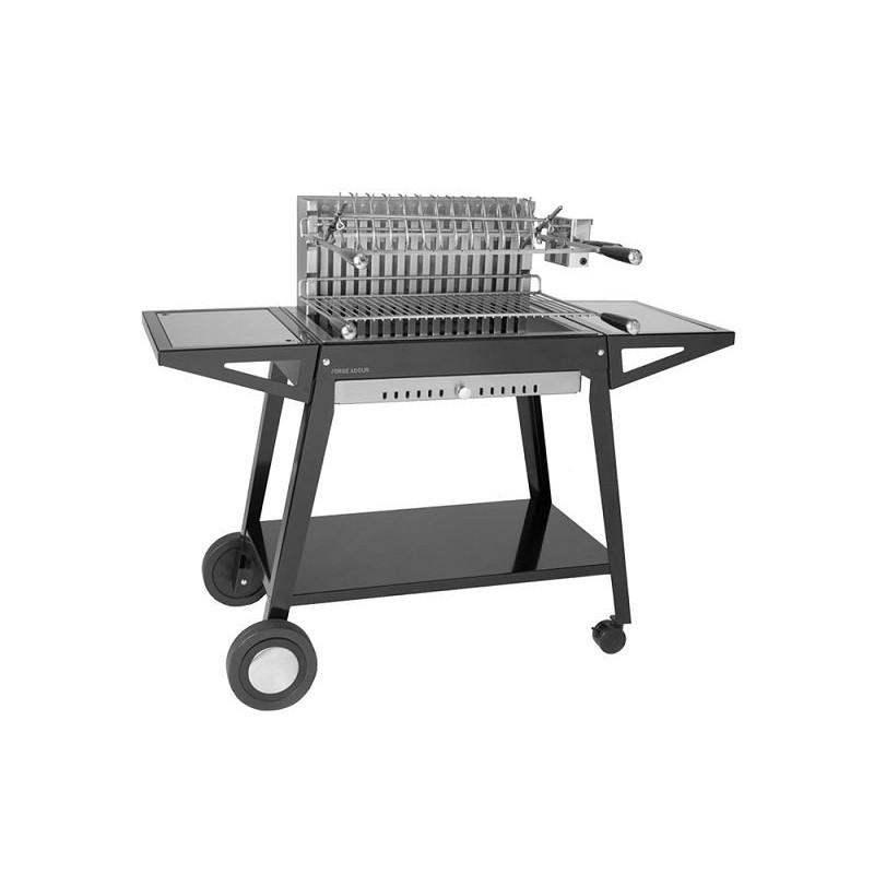 Carro para grill de acero integrado 66 de Forge Adour