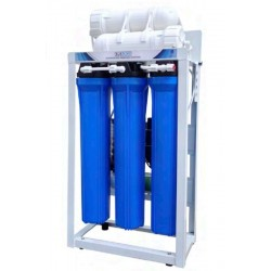 "Equipo semi-industrial de osmosis inversa Maxi 200 gpd de 20"""