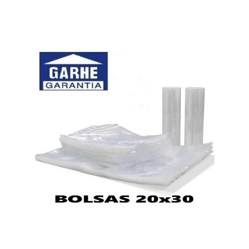 100 BOLSAS DE ENVASADO AL VACIO 20x30 cm