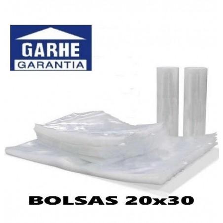 100 bolsas de envasado al vacio 20x30 cm garhe