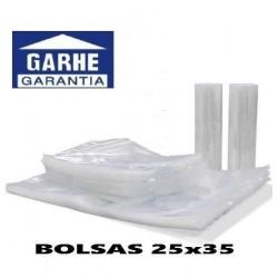 100 BOLSAS DE ENVASADO AL VACIO 25x35 cm