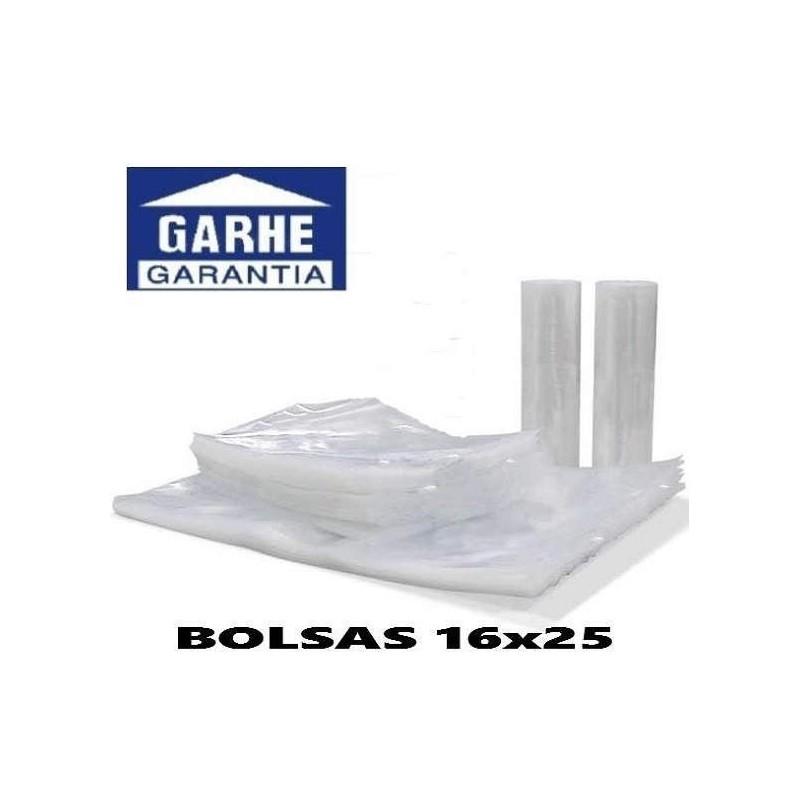 100 BOLSAS DE ENVASADO AL VACIO 16x25 cm