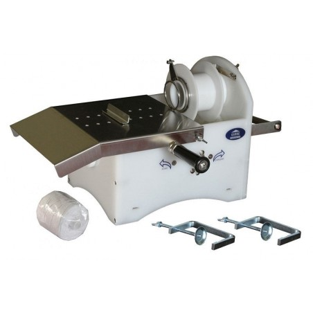 Atadora de embutidos a hilo garhe funcionamiento manual o electrico