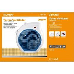 Calefactor Silvano FHR-182 color azul