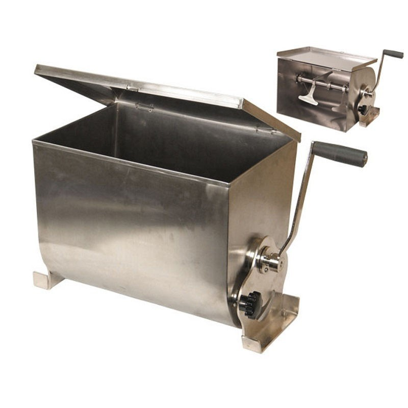 Amasadora mazcladora manual de carne garhe inox 00900
