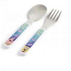Cubiertos bob esponja set cuchara tenedor
