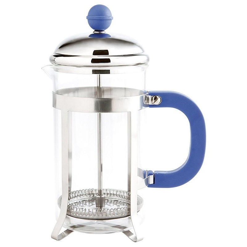 Cafetera embolo 350 ml color azul quid