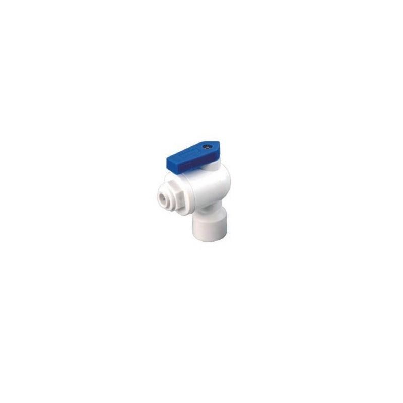 Valvula deposito 1/4 conexion rapida osmosis