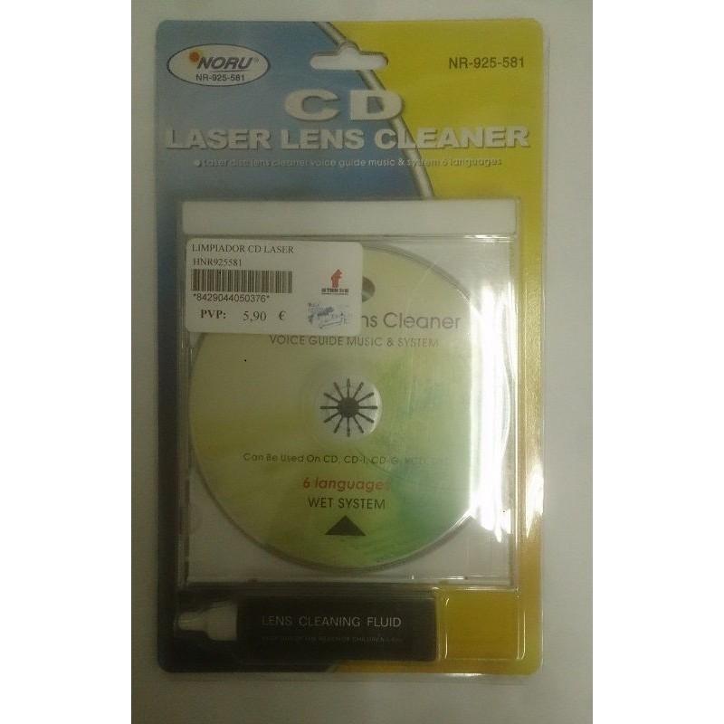 Limpiador lentes de cd , dvd noru nr 925 581 laser