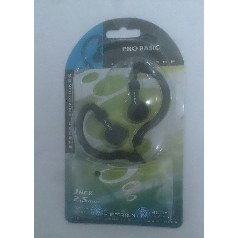 auricular pro basic  eh 122 conexion jack 2.5 mm