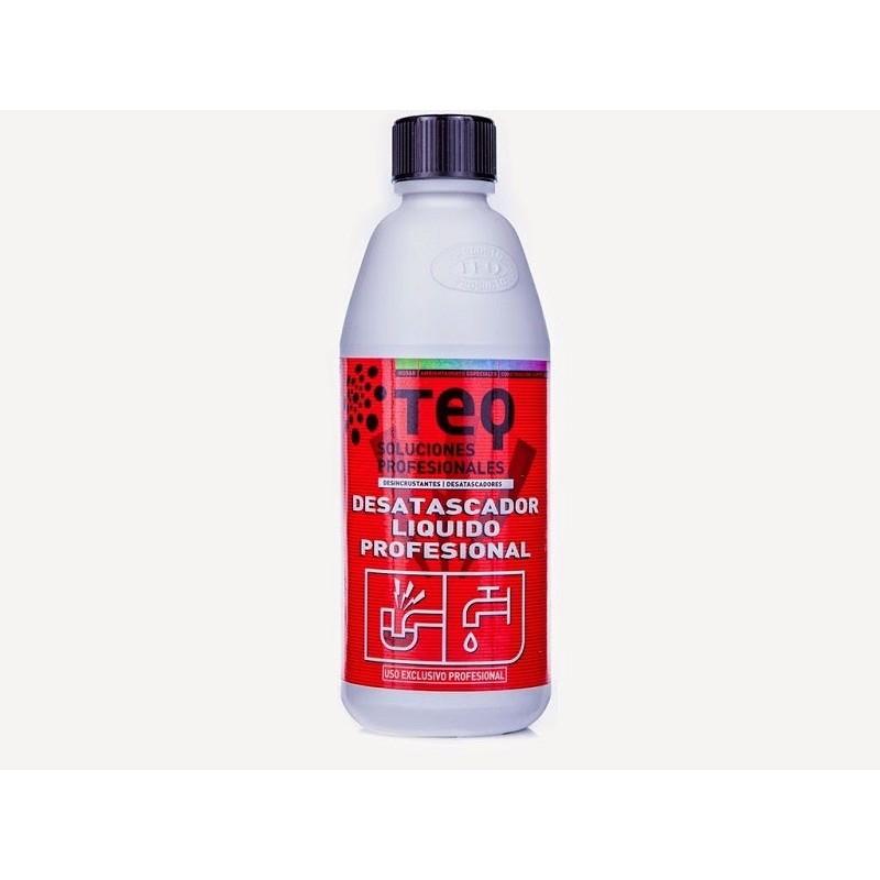 Desatascador liquido profesional TEQ 1.1 kg